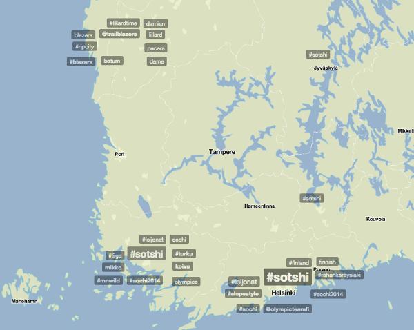 Helmikuussa 2014 Pirkanmaa pakeni trendikartan analyysia.